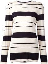 Denis Colomb striped boyfriend sweater