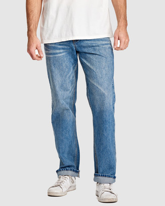 RES Denim Men's Blue Jeans - Rogue Relaxed Jean - Size One Size, 32 at The Iconic