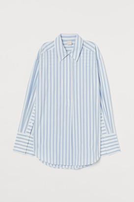 H&M Oversized poplin shirt
