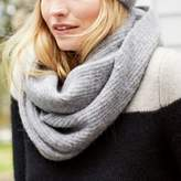The White Company Alpaca-Rich Rib Snood