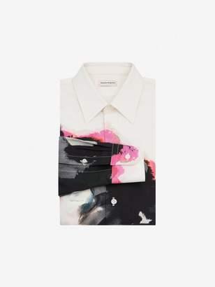 Alexander McQueen Ink Floral Shirt