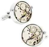 Cufflinks Inc. Men's Silver Watch Movement Cufflinks