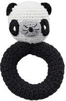 Baby Essentials Panda Animal Knit Rattle