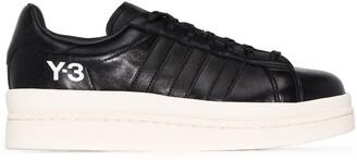 Y-3 Hicho leather platform sneakers