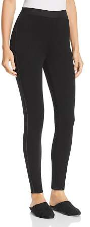 Eileen Fisher Piped-Trim Leggings