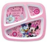 Disney Zak! Designs® Minnie Divided Kid's Dinner Plate