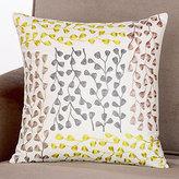 Botanical Embroidered Toss Pillow