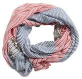 MANGO Stripes lightweight scarf