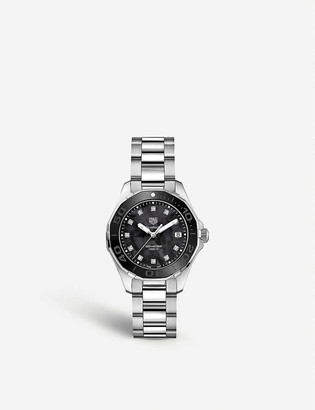 Tag Heuer WAY131M.BA0748 Aquaracer stainless steel and diamond watch