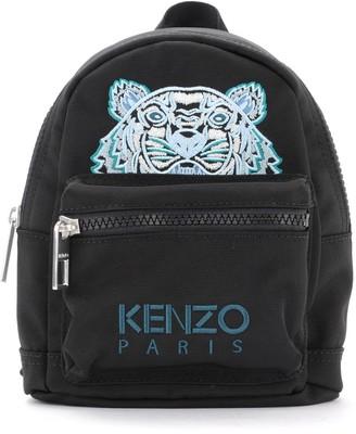 Kenzo Mini Backpack In Black Fabric