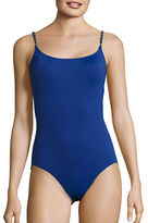 MICHAEL Michael Kors Chain-Accented One-Piece Swimsuit