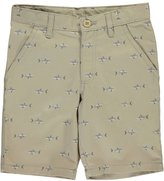 "French Toast Little Boys' ""Shark Attack"" Bermuda Shorts"