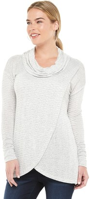 A Glow Maternity a:glow Spring Weight Tulip Front Nursing Cowl