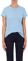 ATM Anthony Thomas Melillo Women's Schoolboy Cotton T-Shirt-LIGHT BLUE