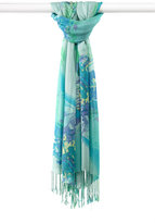 Made of Me Watercolor Floral Scarf