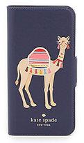 Kate Spade Camel iPhone 7 Folio Case