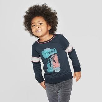 Osh Kosh Genuine Kids From Oshkosh Genuine Kids® from OshKosh Toddler Boys' Whale Raglan Pullover Shirt - Nightfall 12M