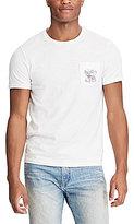 Polo Ralph Lauren Custom Slim-Fit Short-Sleeve Crew Neck Americana Graphic Tee