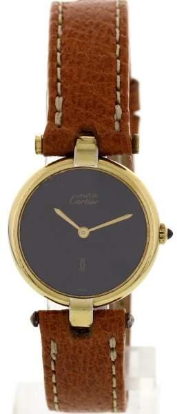 Cartier Must de 135283 Vermeil Argent Womens Watch