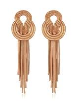 Lara Bohinc Saturn Rose Earrings