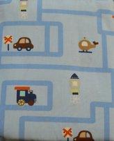 Circo Crib Sheet Transportation - Blue by