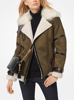 Michael Kors Faux-Shearling Jacket