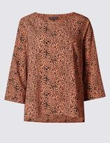 Marks and Spencer Round Neck Blouse