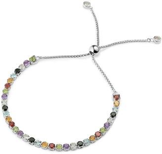 Tsai X Tsai Sanchong Rainbow Gemstones Bracelet Sterling Silver