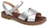 Camper Women's Pimpom Strappy Sandal