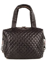 M Z Wallace 'Large Sutton' Quilted Oxford Nylon Shoulder Tote