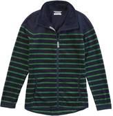 Nautica Striped Nautex Fleece Jacket