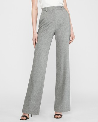 Express High Waisted Soft Knit Trouser Pant