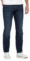 Wrangler Big And Tall Blue Mid Wash Regular Fit Jeans