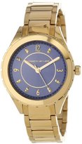 Kenneth Jay Lane Women's KJLANE-2205 Gold Ion-Plated Stainless Steel Watch