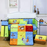 9 Pieces Beautiful Animal Baby Crib Cot Bedding Quilt Set