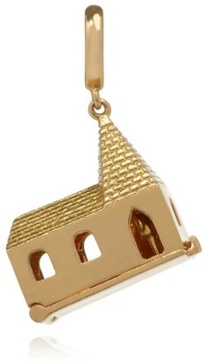 Annoushka X The Vampire'S Wife Yellow Gold God Is In The House Charm