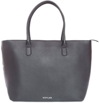 Voylan Manhattan Tote In Black