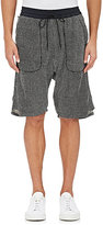 Nlst Men's Waffle-Stitched Knit Drop-Rise Shorts