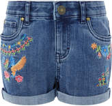 Monsoon Kingfisher Embroidered Denim Shorts