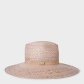 Paul Smith Women's Violet Straw Panama Hat