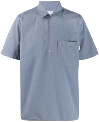 Paul Smith Short-Sleeve Zip Shirt