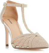 Linea Dilla strappy t-bar court shoes