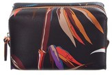 Emilio Pucci Printed Leather Cosmetic Case.