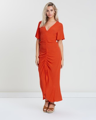 Sass Ruched Dress