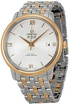 Omega Men's De Ville 36.8mm Two Tone Steel Bracelet & Case Automatic Analog Watch 424.20.37.20.02.002