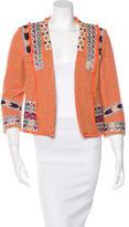 MSGM Tweed Ornate Jacket