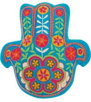 Nourison Mina Victory Trendy, Hip and New Age Hamsa Decorative Pillow