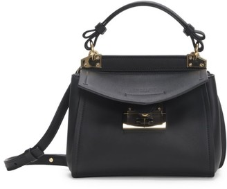 Givenchy Mini Mystic Leather Top Handle Bag