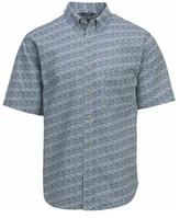 Woolrich Men's Walnut Run Printed Shirt