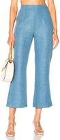 Mara Hoffman Lucy Pant in Blue.